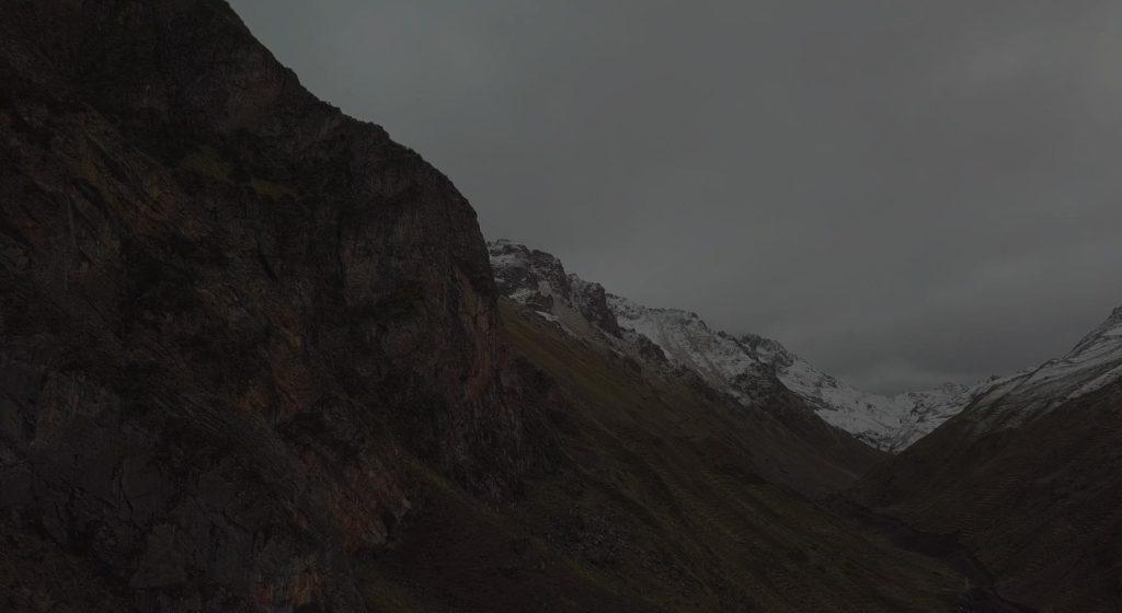 Climbing Pitumarca In Peru